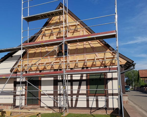 Maison alsacienne à Daubensand