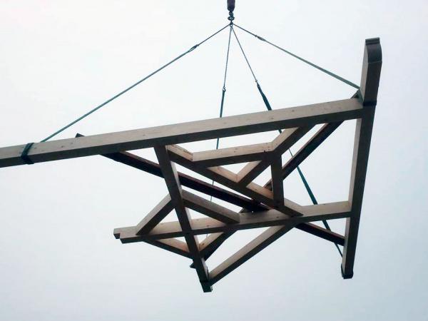 Installation colombage alsacien